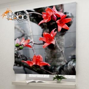 Алые цветы арт.3340