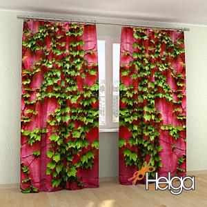 Розовая стена арт.3848
