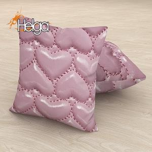 Розовые сердечки Арт.3210