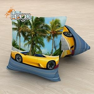 Желтый автомобиль Арт.2995