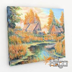 Деревенская осень Арт.3898