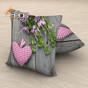 Сердечко с цветами Арт.2801