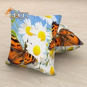 Бабочки в ромашках Арт.2827