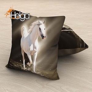 Белая лошадь холст Арт.2945