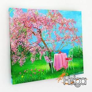 Весенний сад холст Арт.3461