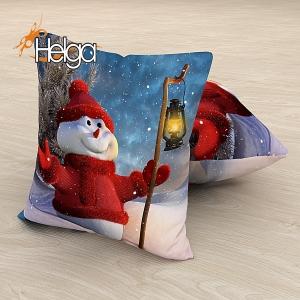 Снеговик с фонариком Арт.2943