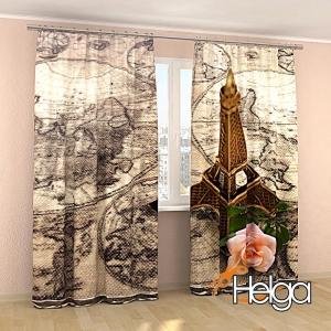Эйфелева башня и роза арт.3892