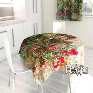 Цветущие розы в Италии Арт.2763