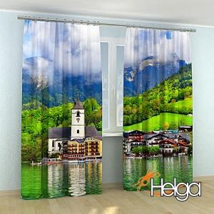 Горное озеро в Австрии арт.3364