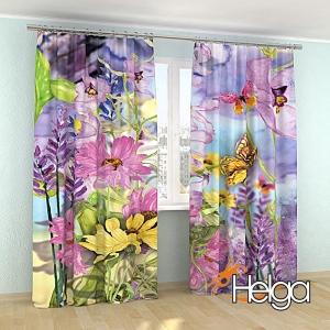 Полевые цветы акварель арт. 3839