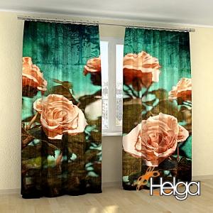 Розы винтажная открытка Арт.3853