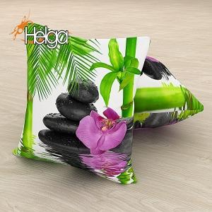 Розовая орхидея и бамбук Арт.3469