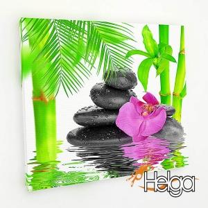 Розовая орхидея и бамбук Арт.3469/1