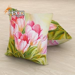 Розовые тюльпаны холст v2 Арт.2826