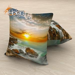 Море и скалы на закате v2 Арт.2745