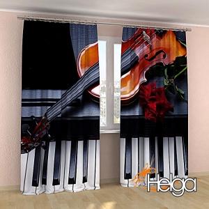 Фортепиано и скрипка v2 арт.3885