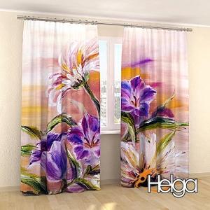 Полевые цветы холст v2 арт.3840