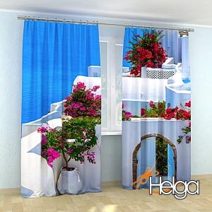 Цветы на Санторини v4 Арт.3478