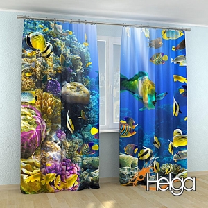 Тропические рыбки v3 арт. 3414