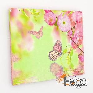Бабочки в цветах v2 Арт.3349
