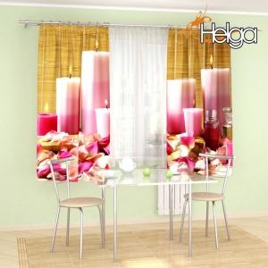 Розовые свечи v2 арт. 3698