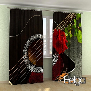 Гитара и роза арт.3935