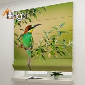 Зеленая птица арт.2335