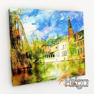Канал в Бельгии Арт.3451
