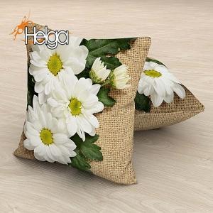Белые хризантемы Арт.2767