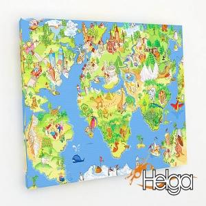Детская карта мира Арт.2202