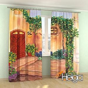 Дом в Испании холст арт.3773