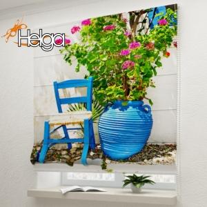 Ваза с цветами Греция арт.2129