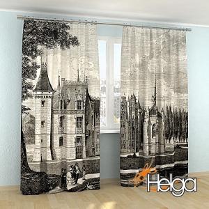 Замок во Франции иллюстрация арт.3583