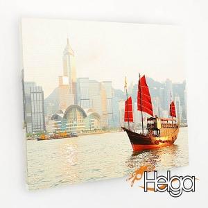 Гавань в Гонконге v1 Арт.1986