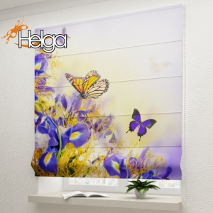 Бабочки в цветах v3 арт.3350